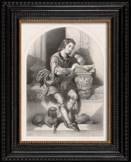 Portr�t von Martin Luther als Kind (Jacques Joseph Lecurieux)