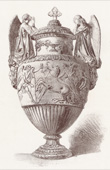 White Marble Funeral Vase (Jean-Jacques Pradier)