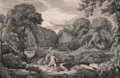 Hercules Fighting the Lernaean Hydra (Theodore d'Aligny)