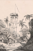 Fire Watch Tower in Calcutta (A. Borgen)