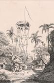Fire Watch Tower in Calcutta (A. Borgen)
