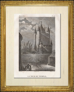 History and Monuments of Paris - The Temple Prison : Temple's Tower (Tour du Temple)