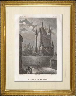 Geschichte und Denkmäler von Paris - Temple - Gefängnis - Schloss
