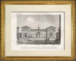 Geschichte und Denkm�ler von Paris - Kirche - Kirche Capucins de la Chauss�e d'Antin