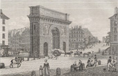 History and Monuments of Paris - Porte Saint Martin