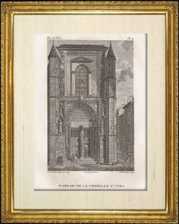 Geschichte und Denkm�ler von Paris - T�r des Kapelle  Saint Yves