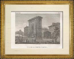 Geschichte und Denkm�ler von Paris - Porte Saint Denis