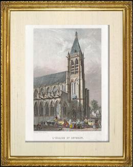 Geschichte und Denkm�ler von Paris - Kirche Saint  S�verin
