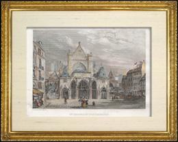 Geschichte und Denkm�ler von Paris - Kirche  Saint Germain l'Auxerrois