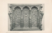 [02/56] - Antique french carved wooden furnitures  and Antique Woodcarving by Gustave Gallerey - French Renaissance Style Pannel