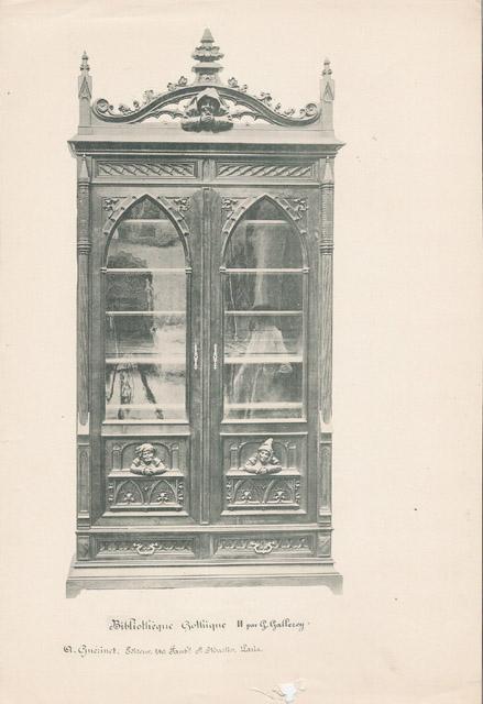 Stampe antiche 04 56 mobili antichi francesi in legno scolpito e sculture su legno di - Mobili antichi francesi ...