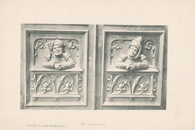 Stampe antiche 05 56 mobili antichi francesi in legno scolpito e sculture su legno di - Mobili antichi francesi ...
