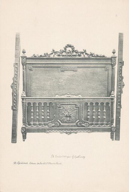 Stampe antiche 08 56 mobili antichi francesi in for Mobili antichi francesi
