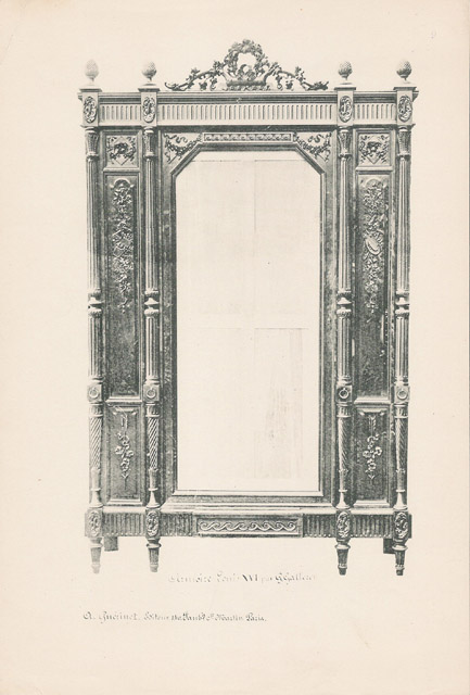 Stampe antiche 09 56 mobili antichi francesi in for Mobili antichi francesi