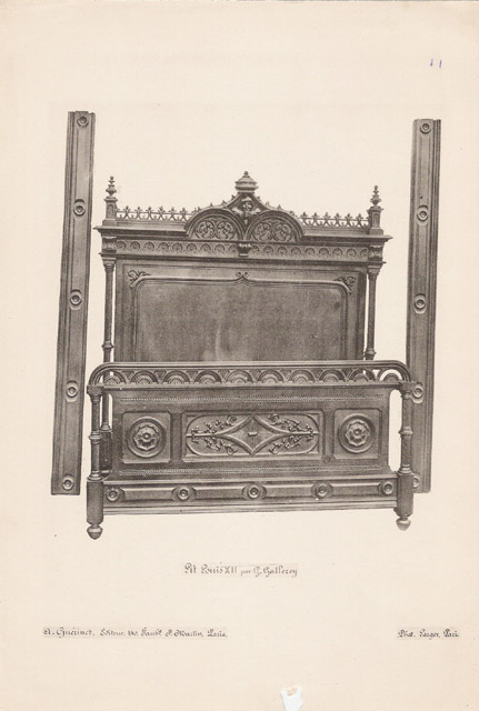 Stampe antiche 11 56 mobili antichi francesi in for Mobili antichi francesi