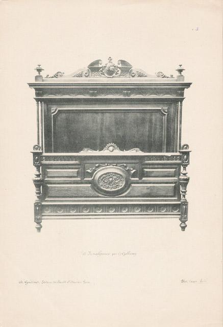 Stampe antiche 13 56 mobili antichi francesi in for Mobili antichi francesi