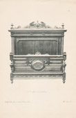 [13/56] - Antique french carved wooden furnitures and Antique Woodcarving by Gustave Gallerey - French Renaissance Style Bed