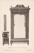 [14/56] - Antique french carved wooden furnitures and Antique Woodcarving by Gustave Gallerey - French Renaissance Style Armoire and Night Table