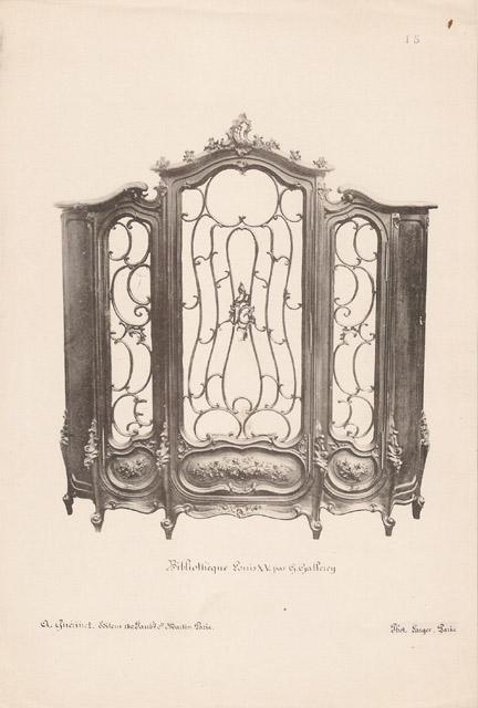 Stampe antiche 15 56 mobili antichi francesi in for Mobili antichi francesi