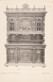 [17/56] - Antique french carved wooden furnitures and Antique Woodcarving by Gustave Gallerey - French Renaissance Style Buffet