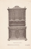 [18/56] - Antique french carved wooden furnitures and Antique Woodcarving by Gustave Gallerey - French Louis XII Style Buffet