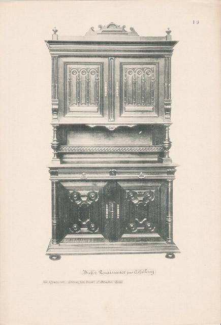 Stampe antiche 19 56 mobili antichi francesi in for Mobili antichi francesi