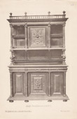 [20/56] - Antique french carved wooden furnitures and Antique Woodcarving by Gustave Gallerey - French Renaissance Style Buffet