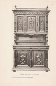 [21/56] - Antique french carved wooden furnitures and Antique Woodcarving by Gustave Gallerey - French Renaissance Style Buffet