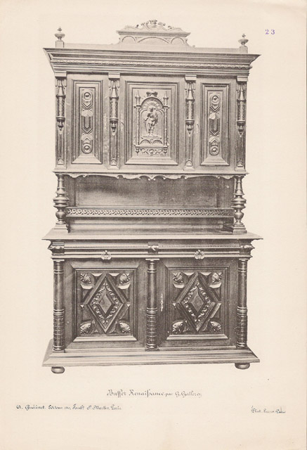 Grabados antiguos 23 56 antiguos muebles franceses for Muebles franceses