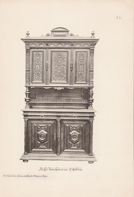 Stampe antiche stampa di 17 56 mobili antichi - Mobili antichi francesi ...