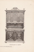 [25/56] - Antique french carved wooden furnitures and Antique Woodcarving by Gustave Gallerey - French Renaissance Style Buffet