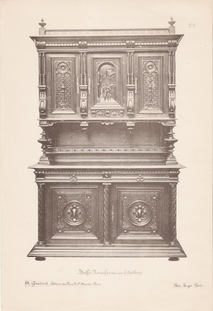 Grabados antiguos 26 56 antiguos muebles franceses for Muebles franceses