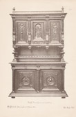 [26/56] - Antique french carved wooden furnitures and Antique Woodcarving by Gustave Gallerey - French Renaissance Style Buffet
