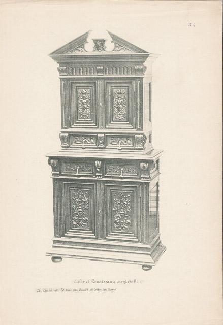 Stampe antiche 34 56 mobili antichi francesi in for Mobili antichi francesi