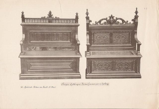 Stampe antiche 41 56 mobili antichi francesi in for Mobili antichi francesi