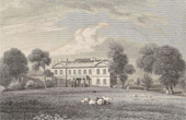 Stanmore House - The Seat of Lady Aylesford - Middlesex  (England)