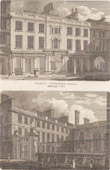 Cloth worker's Hall - Mincing Lane / Vintner's Hall - Thames Street - London  (England)