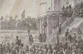 History and Monuments of Paris - French Revolution - Event of the Cult of the Supreme Being
