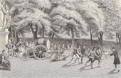 History and Monuments of Paris - First Tests of Public Watering in August 1791