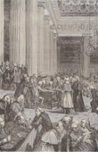 History and Monuments of Paris - French Revolution - The Abandonment of Privileges on 4 August 1789
