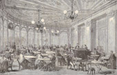 History and Monuments of Paris - Café de la Rotonde - Palais-Royal