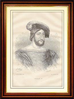 Porträt von Franz I, König von Frankreich (1494-1547)