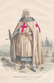 Jacques de Molay, Grand Master of the Knights Templar (1240-1314)