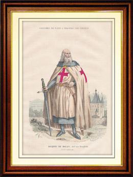Jacques de Molay, Gro�meister des Templerordens (1240-1314)