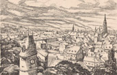 View of Mulhouse (Alsace - France)