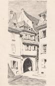 Rue St-Martin - Street of Colmar (Alsace - France)