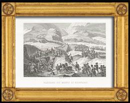 Napoléon Bonaparte beim Übergang über den Großen St. Bernhard