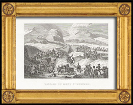 Napol�on Bonaparte beim �bergang �ber den Gro�en St. Bernhard