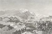 Stich von Napoleonische Kriege - Koalitionskriege - Die Schlacht von Rivoli (1797)