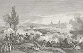 Stich von Napoleonische Kriege - Koalitionskriege - Die Schlacht von Dresden - Tod von Moreau (1813)